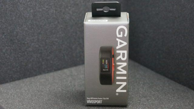 Garmin Vivosport boxed