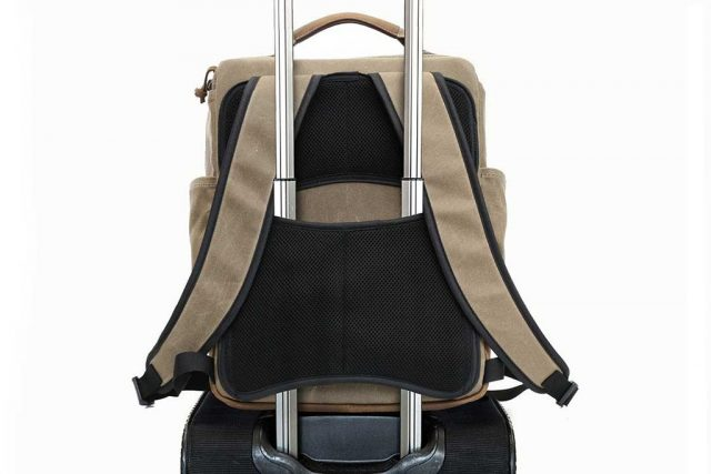 Bolt Backpack rolling luggage - one of my favorite features