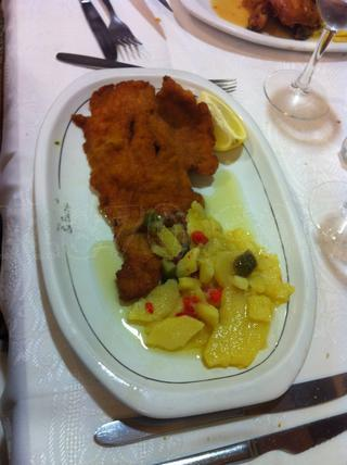 escalope full the fat avec patatas