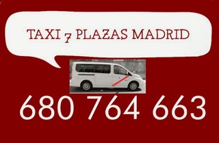 TAXI 7 PLAZAS VALLECAS