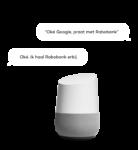 Rabobank Google Home