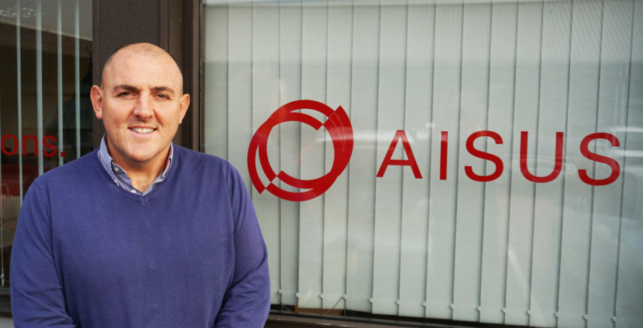 AISUS Business Development Manager Andrew Mitchell