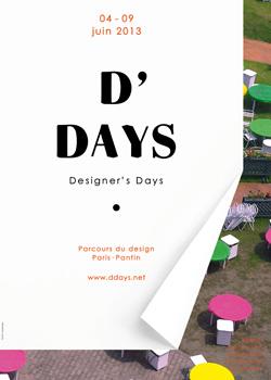 La treizième édition des D'Days (Designer's Days) porte sur le thème « Et Demain »