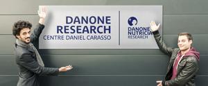 Autograf chez Danone