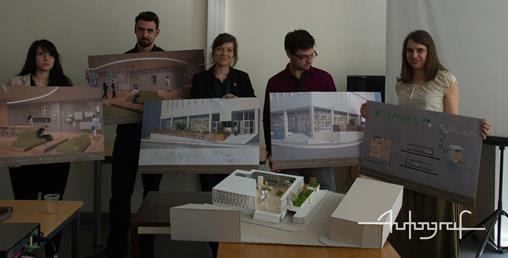 Le projet en partenariat avec la branche innovation du groupe La poste des étudiants d'Autograf