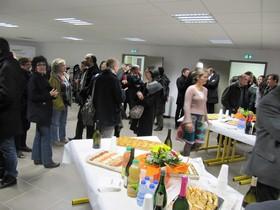 l'École Supérieure La Raque a inauguré son nouveau bâtiment « Les Oliviers »