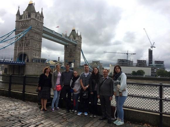 Les étudiants de La Raque  découvrent la Grande Distribution à Londres
