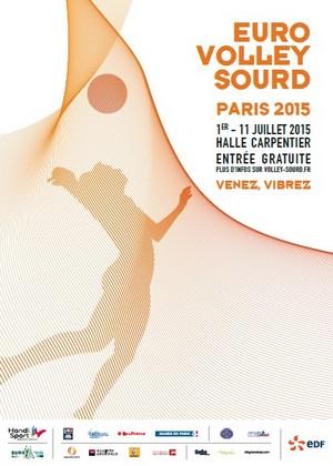 Euro Volley Sourd - Paris 2015