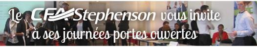 Le CFA STEPHENSON vous ouvre ses portes samedi 30 mai de 10h à 17h