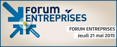 Forum entreprises d'ESICAD Toulouse et d'ESICAD Montpellier Jeudi 21 mai 2015 de 14h à 18h
