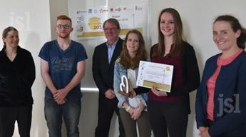 Les apprentis du BTS QIABI de l'IFRIA BFC remportent le Concours Challenge innov' Bourgogne 2015