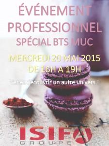 ISIFA _ Événement professionnel : spécial BTS MUC