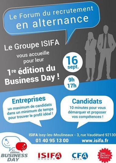 1ere Edition Du Business Day De L Ecole Isifa Mercredi 16