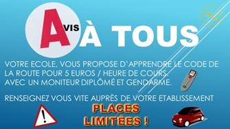 Partenariat exclusif réservé aux étudiants d'ISIFA : passez votre permis auto à un prix spécial ISIFA