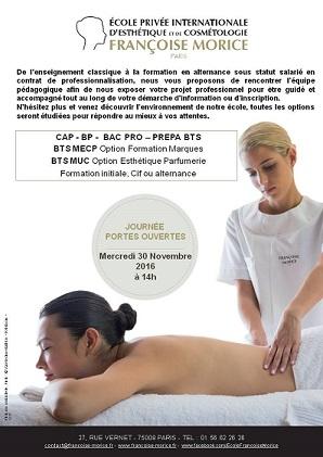Francoise Morice JPO  mercredi 30 novembre 201 à partir de 14 heures