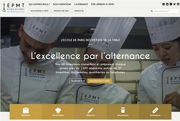 L'Ecole de Paris des Métiers de la Table lance son nouveau site internet !