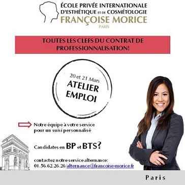 ATELIERS D'AIDE A L'EMBAUCHE  le 20 et 21 mars 2017 à l'école Françoise Morice