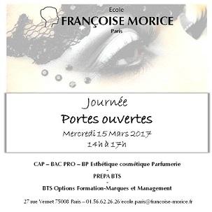 Francoise Morice JPO mercredi 15 mars à partir de 14 heures