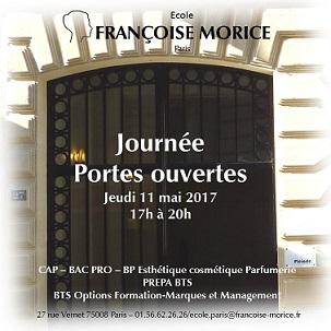 Francoise Morice JPO Jeudi 11 mai de 17h à 20h
