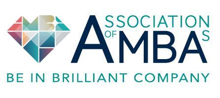 label AMBA (Association of MBA's)