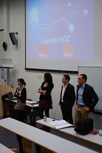 L'entreprise Noz, numéro 1 du déstockage en Europe, est venue à la rencontre des étudiants.