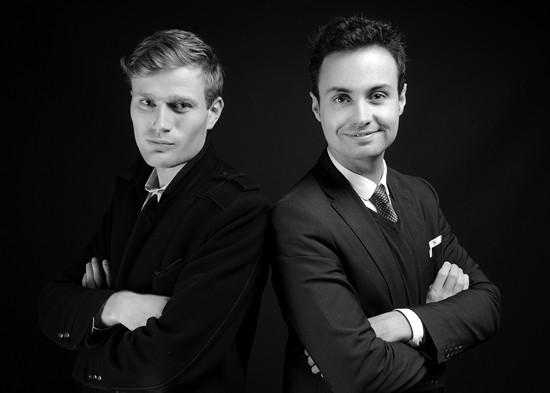 Adrien Perthame et Maxime Lemersre, co-fondateurs d'ULLYS reviennent sur leur parcours