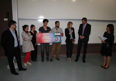 Startem 2015 - l'Atelier « CUBE » remporte le Prix du Jury