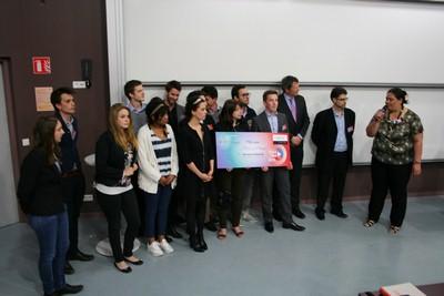 Startem 2015 - l'Atelier « Médecins et Managers » remporte le Prix des Internautes