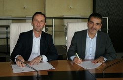 Signature de la convention de partenariat le 27 septembre 2016 entre Groupama et ICN
