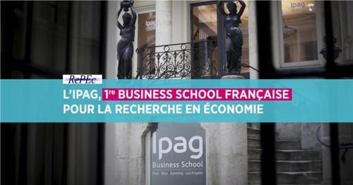 L'IPAG, Première Business School Française pour la Recherche en Économie