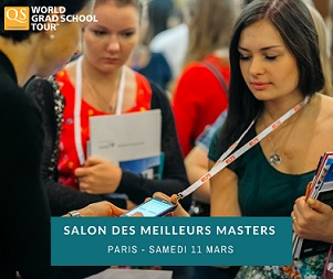Salon QS World Grad School Tour Paris