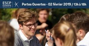 Journée Portes Ouvertes ESCP Europe Samedi 2 février 2019