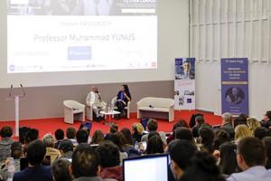 Montpellier Business School reçoit le Professeur Muhammad Yunus Prix Nobel