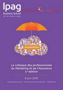 3ème Edition du colloque AssurMarketing co-organisée par l'Ipag - edition 2015