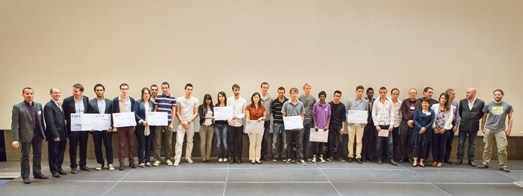Les lauréats de la 8e  édition du « Jour des Projets »