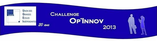 Résultats du Challenge Op'Innov de l'UGEI