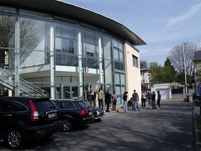 L'ENSIATE est situé dans les locaux de la Philotechnique à Bois-Colombes
