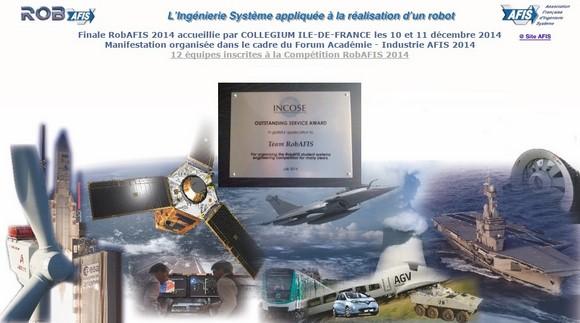 L'EISTI reçoit la Finale du concours RobAFIS les 10 et 11 décembre 2014 – Cergy