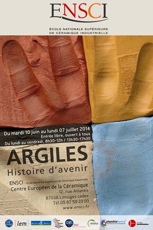 Exposition grand public « Argiles, Histoire d'avenir »