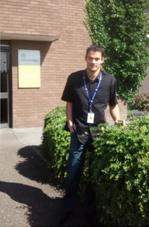 Anthony, élève en 2e année de cycle ingénieur Génie Industriel, parcours Management des Risques de l'ENSIBS