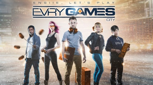 « Evry Games City » de l'ENSIIEE