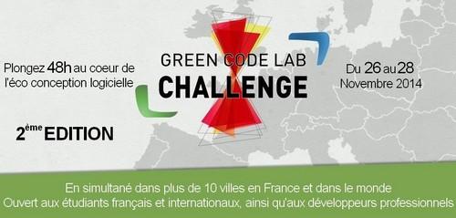 Green Code Lab 2014 - ESAIP Angers
