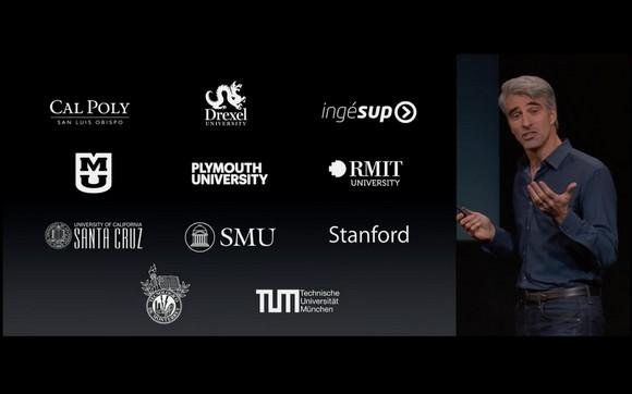 Ingésup dans la Keynote d'Apple du 16/10 !