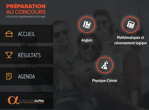 Concours d'ingénieurs post-bac : le Concours Alpha et Nomad Education lancent une application