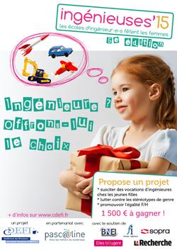 5ème édition d'« Ingénieuses »