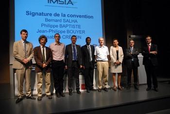 Inauguration de L'IMSIA