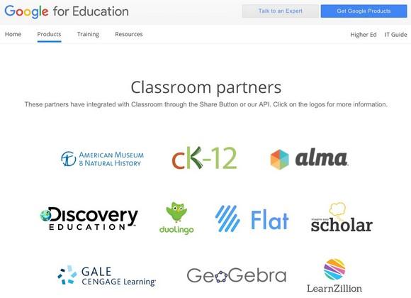Flat, partenaire de Google pour l'Éducation