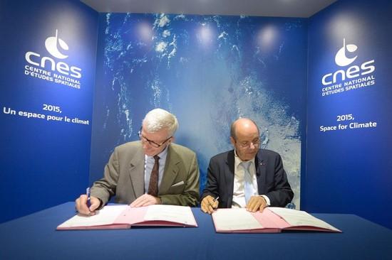 Signature du partenariat IPSA-CNES