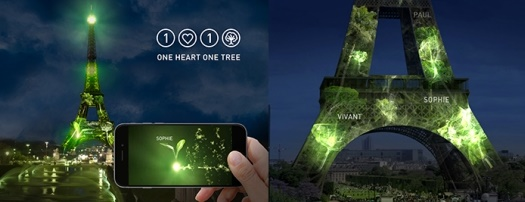 « One Heart One Tree », transformation réussie de la tour Eiffel en forêt virtuelle avec l'EPITA