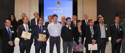 Trophée Ile-de-France André Blanc-Lapierre le 7 décembre 2015